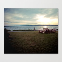 Lake Washington Shoreline Canvas Print
