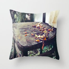 Emptiness You Left Behind Throw Pillow