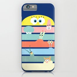Krabby Party iPhone Case