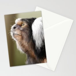 Marmoset looking up Stationery Cards