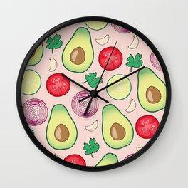 GUACAMOLE PARTY Wall Clock