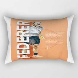 federer Rectangular Pillow