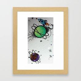 spaciotico!!! Framed Art Print