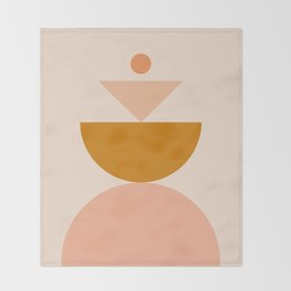 Abstraction_BALANCE_MODERN_Minimalism_Art_001 Throw Blanket