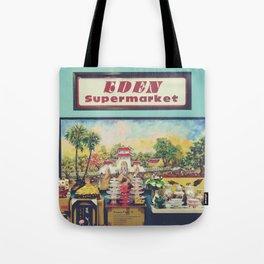 eden supermarket Tote Bag