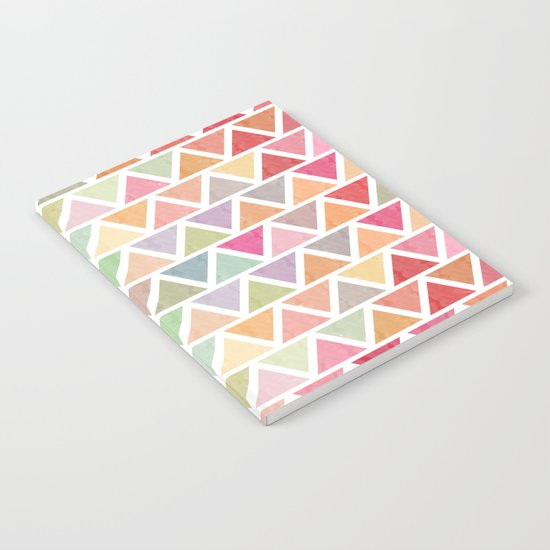 Lovely geometric Pattern III Notebook