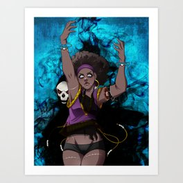 Something Sinister Art Print