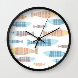 Portuguese Sardinhas Wall Clock