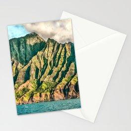 2016 Na' Pali Coast, Kauai, Hawaii Stationery Cards
