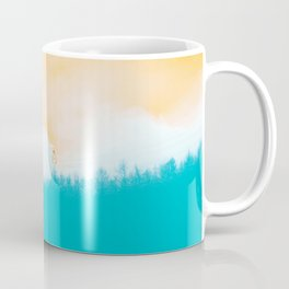Time Rabbit and Blue Forest Coffee Mug