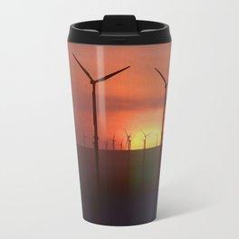 Wind Farms (Digital Art) Travel Mug