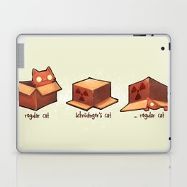 Schrödinger's cat Laptop & iPad Skin