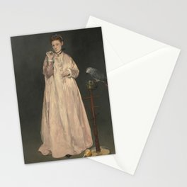 Edouard Manet - Young Lady in 1866 Stationery Cards