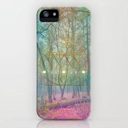 Magic of the Woods iPhone Case