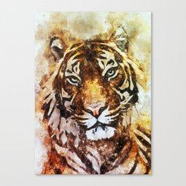 Tiger canvas art Canvas Print