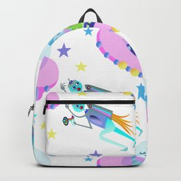 Outerspace Traffic Jam Backpack