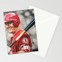 Mike Trout Stationery Cards