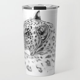 Leopard - Glance back Travel Mug