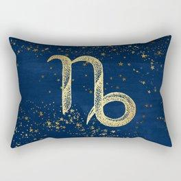 Capricorn Zodiac Sign Rectangular Pillow