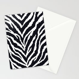 Zebra fur texture Stationery Cards