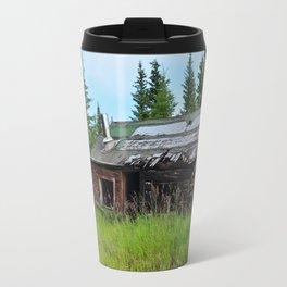 Alaskan Frontier Cabin Travel Mug