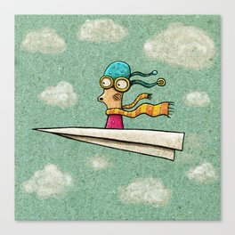Paperplane2 Canvas Print