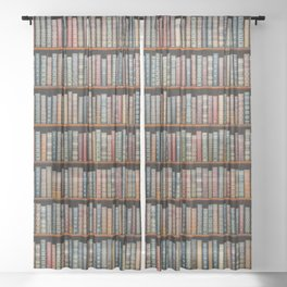 The Library Sheer Curtain