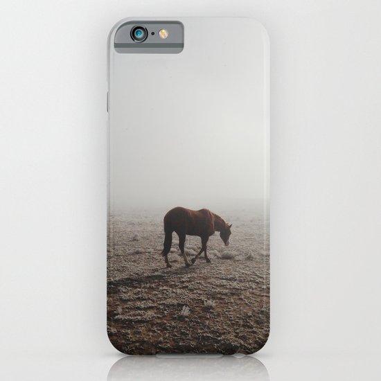 Fogged Horse iPhone & iPod Case