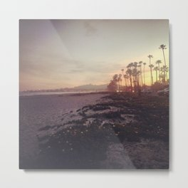 Santa Barbara Sunset Metal Print