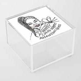 #STUKGIRL JADE Acrylic Box