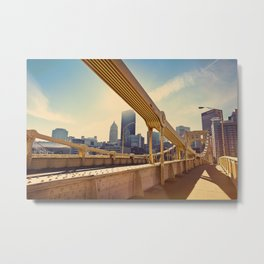 Pittsburgh, PA, USA Metal Print