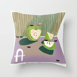 """A""  Throw Pillow"