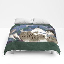 Go to Sleep, Says the Night Comforters