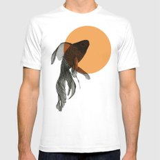 goldfish Mens Fitted Tee White MEDIUM
