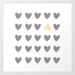 heart of contradiction Art Print