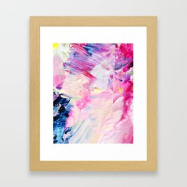 Heydey (Abstract Painting) Framed Art Print