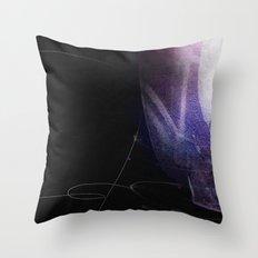 dark passages Throw Pillow