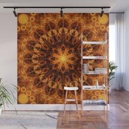 Gold Light Gateway Mandala Wall Mural