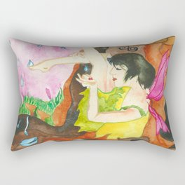 Touch of Rain Rectangular Pillow