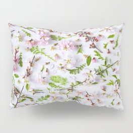 Leaves and flowers pattern (26) Pillow Sham