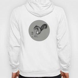 Ride On Squirrel_grey Hoody