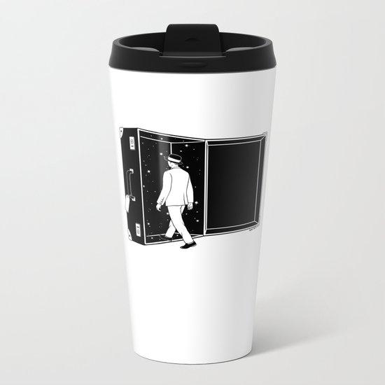 Space Traveler Metal Travel Mug