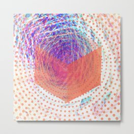 Cubistic Metal Print