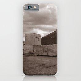 Abandoned Zone of Industry - Sicily - vacancy zine iPhone Case