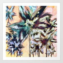 Palm Beach 2 Art Print