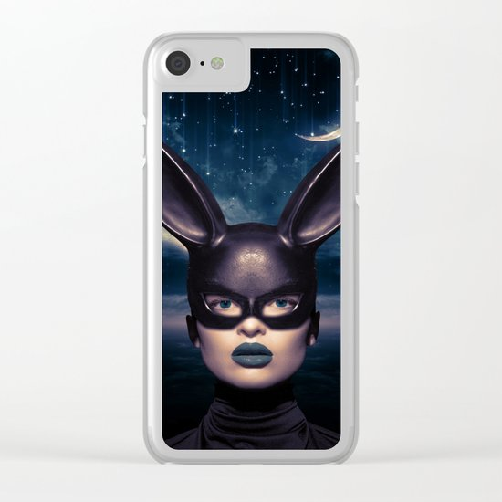 Bad Girl Clear iPhone Case