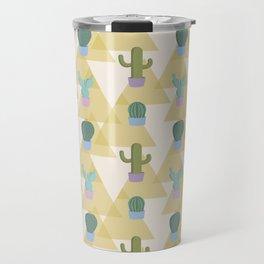 Cute Cacti Travel Mug