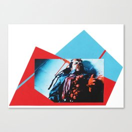 Videodrome movie - Collage artwork Canvas Print
