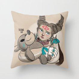 Mewt Throw Pillow