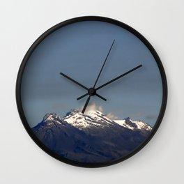 Iztaccihuatl Wall Clock
